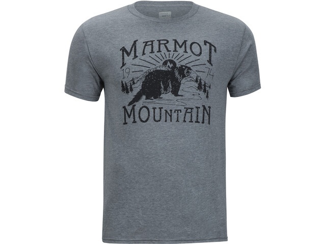 Marmot Sunrise SS Tee Men ash heather